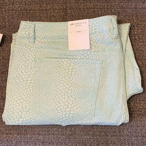 Animal print Liz Claiborne jeans
